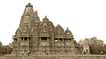Why were temples built?