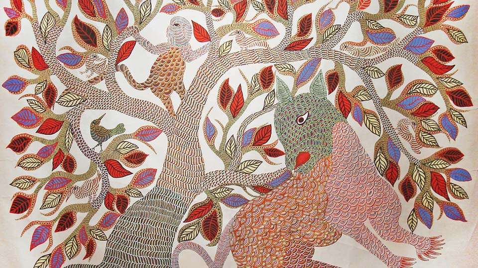 Gond Art And Painting Past Present And Future