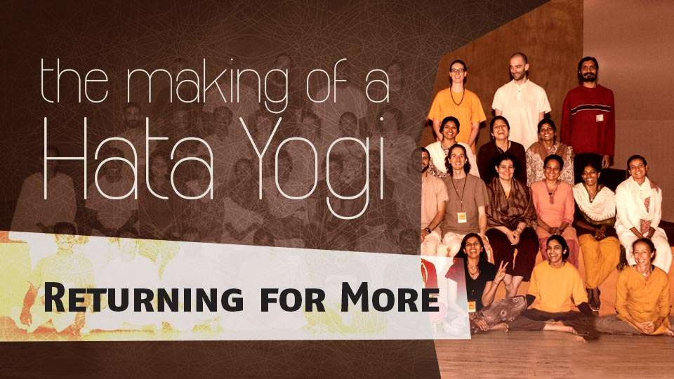 ... upgrade session 2014 - The Making of a Hata Yogi - Returning for More