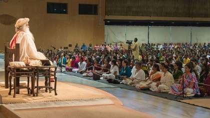 Sadhguru Darshan June 18