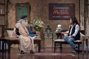 Juhi and Sadhguru