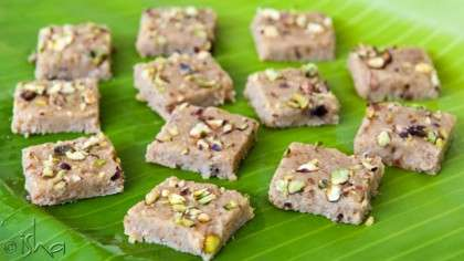 Dry Fruit Burfi
