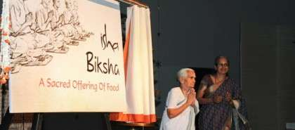 Isha Biksha and the story of Annadanam at Isha