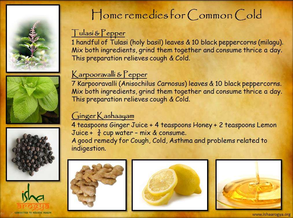 Home Remedy For Cold To Baby