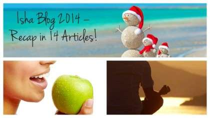 Isha Blog 2014 – Recap in 14 Articles!