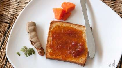 Home-made Papaya-Tamarind Jam