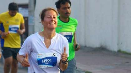 Running For Isha Vidhya: A Volunteer Shares Her Story