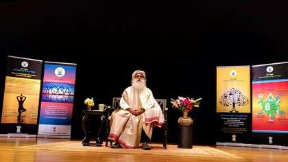 Sadhguru's Houston Talk in the Media