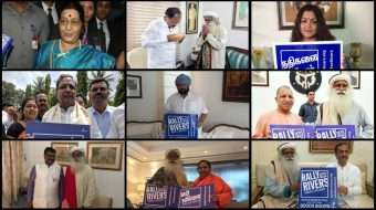 Leaders of the Nation Rally for Rivers