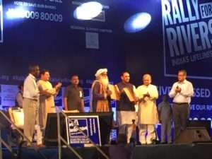 Event Rally for Rivers at Ahmedabad