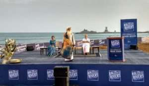 Sadhguru at the event for Rallly for Rivers at Kanyakumari