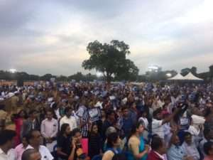 Rally for Rivers event at Mysuru, Karnataka
