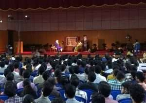 In conversation with the Mystic event at IIT, Chennai.