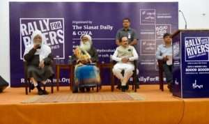 Event Rally for Rivers at Hyderabad