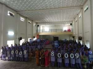 Ayyappa Collage, nagercoil for Rally for Rivers