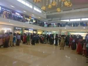 PROZONE mall, coimbatore for Rally for Rivers