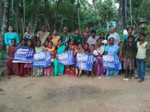 Rally For Rivers Misscall campaign at Nagercoil Nagaraja Temple