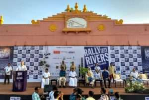 Madurai for Rally for Rivers