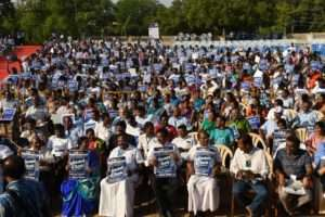 Madurai cheers for Rally for Rivers