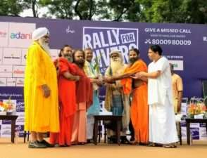 Rally for rivers at Haridwar (27)
