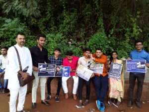 volunteers of Pune campaign for Rallly for Rivers (9)