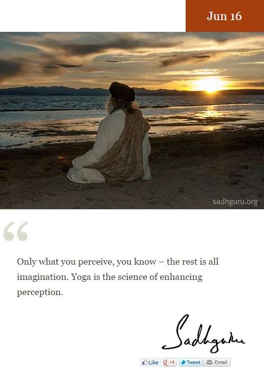 Daily mystic quote sample