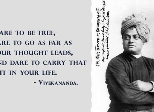 Life Quote by Swami Vivekananda