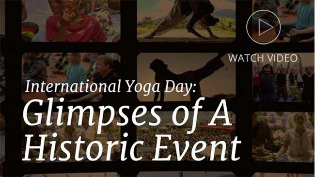 Glimpse of Yoga Day - Video
