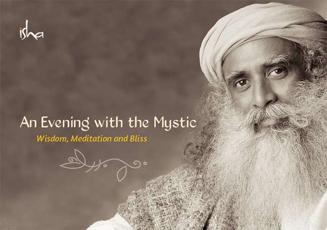 An Evening with the Mystic - Wisdom, Meditation and Bliss