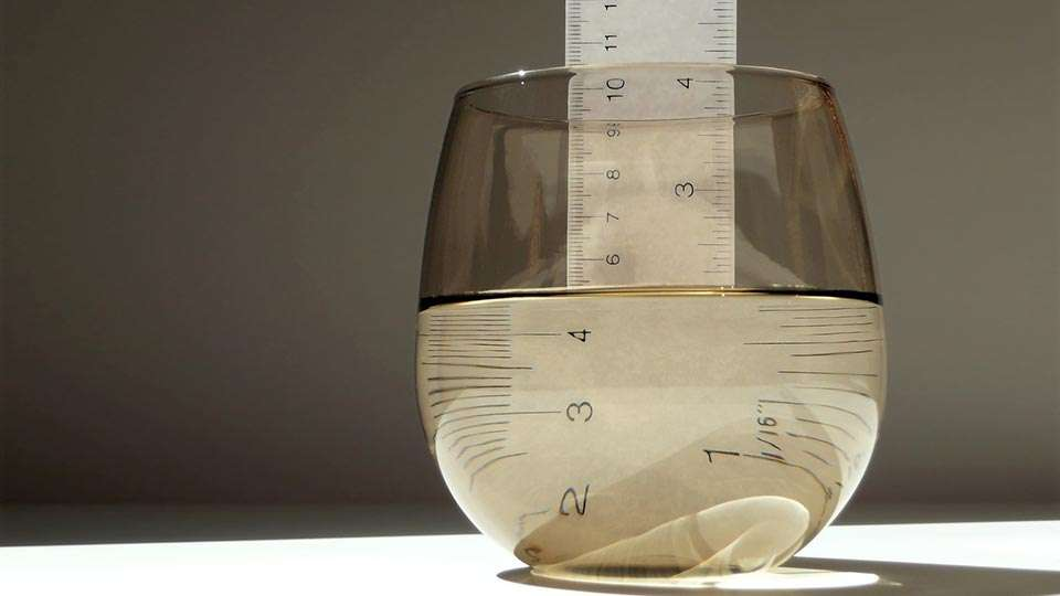 Glass with water - Half full or empty? - Be a Realist
