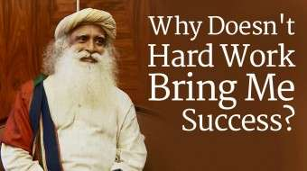 Why Doesn't Hard Work Bring Me Success?