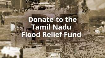 Donate to the Tamil Nadu Flood Relief Fund