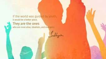 5 Sadhguru Quotes on National Youth Day