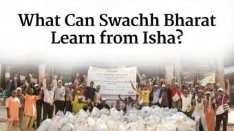 What Can Swachh Bharat Learn from Isha?