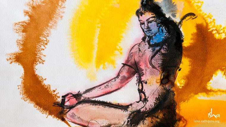 Shiva Wallpapers - Shiva sitting Still HD