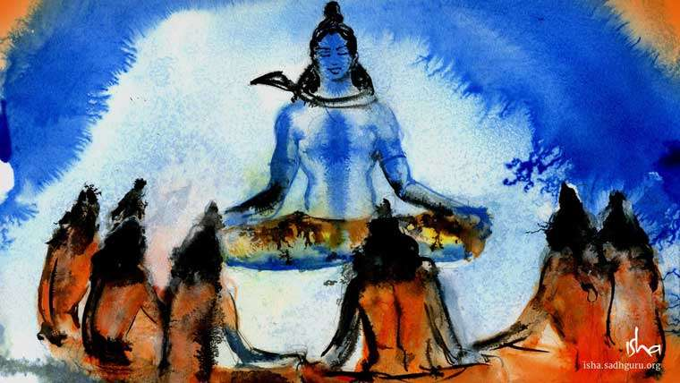 Mahashivratri Images & Wallpaper - Shiva - The Adiyogi with Saptarishis