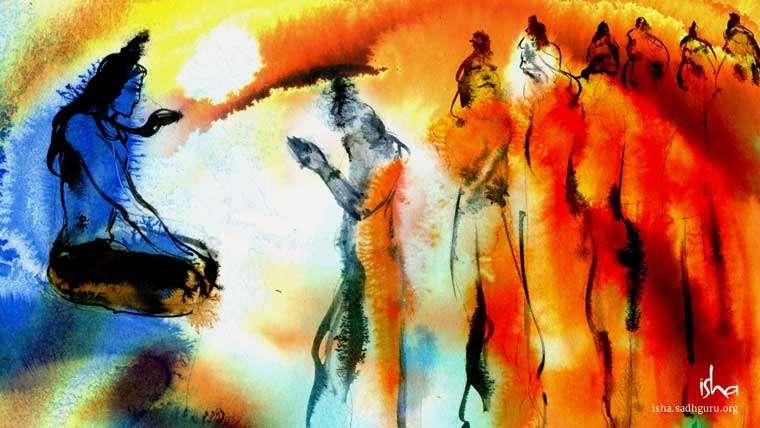 Mahashivratri Images - Shiva with Saptarishis HD