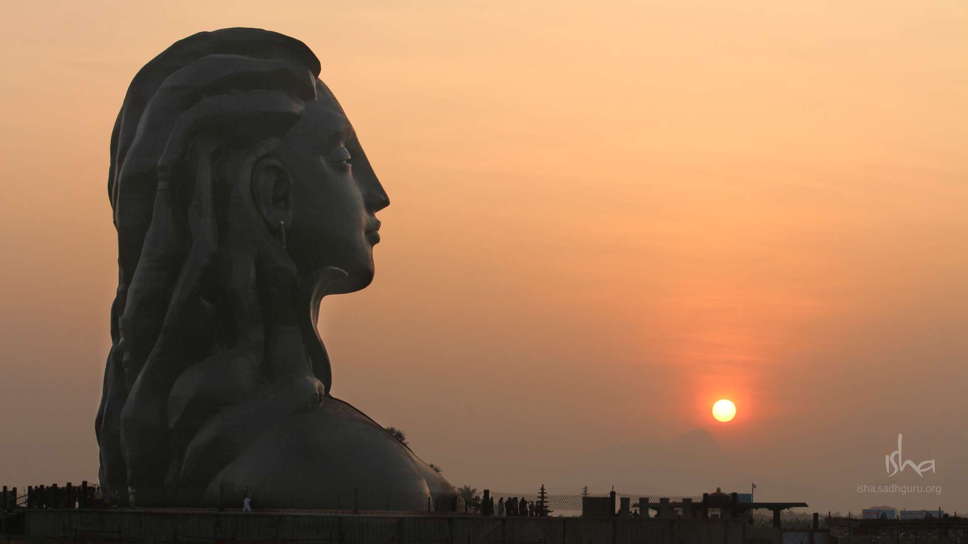 Mahashivratri Images - The Adiyogi During Sunrise HD
