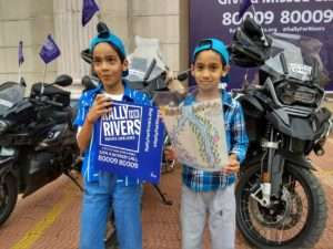 Rally for Rivers bike ride at Bengaluru