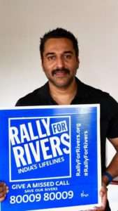 Actor Rahman supports for Rally For Rivers