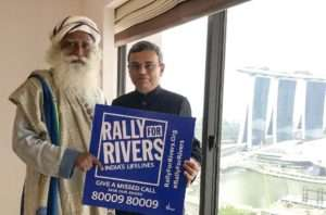 Jawed Ashraf, High Commisioner, Singapore supports for Rally for Rivers