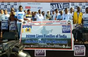 The International Association of Lions Club in support of Rally for Rivers