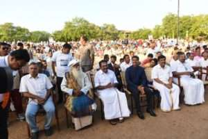 Madurai crowd cheers for Rally for Rivers