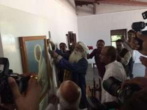sadhguru at sabarmathi ashram