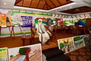 Sadhguru at Thiruvananthapuram for Rally for Rivers