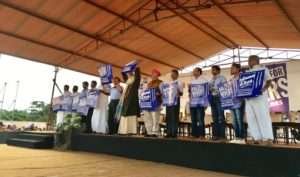 Rally for Rivers flag off at Coimbatore
