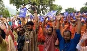 Rally for rivers at Haridwar (26)