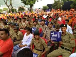 Rally for rivers at Haridwar (3)