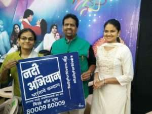 On the occasion of Marathi new year, volunteers at Pune (1)