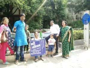 volunteers of Pune campaign for Rallly for Rivers (4)